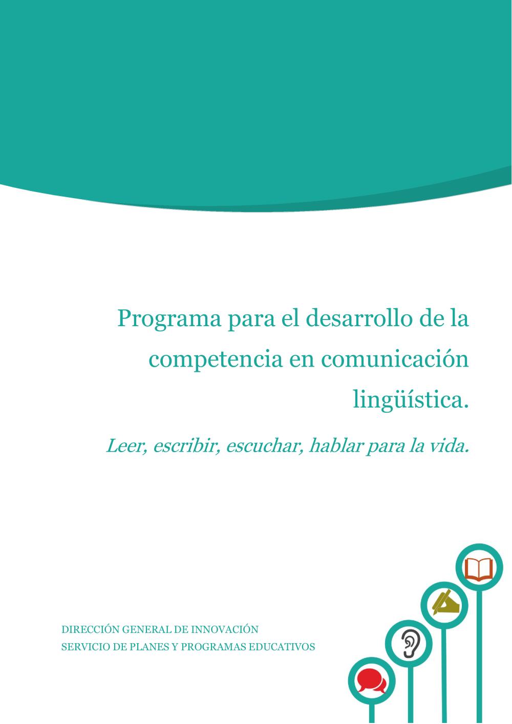 Programa para el desarrollo de la competencia en comunicación ...